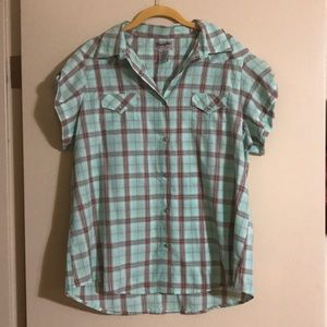 Western pearl snap shirt Woman's
